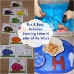 Tot Time Preschool Letter H
