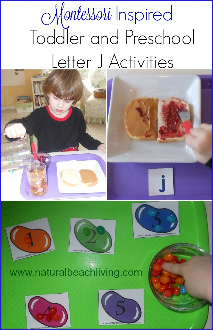 Preschool Letter J Activities Natural Beach Living