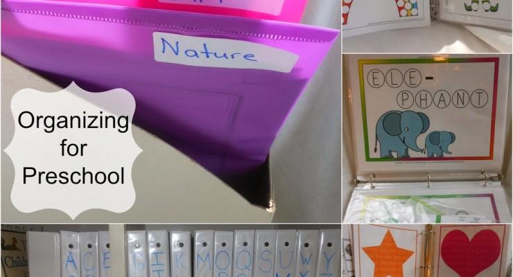 Organizing Letter of the week preschool part 2