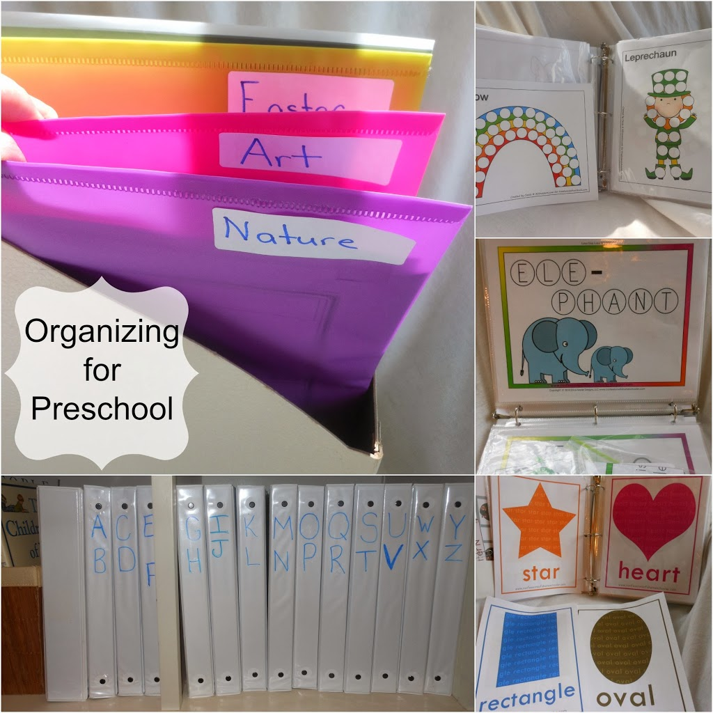 Organizing Letter of the week preschool part 2