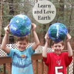 Learn and Love the Earth ~Paper Mache Craft