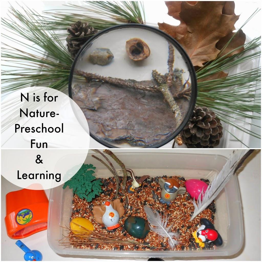 Teaching Preschool Letter N