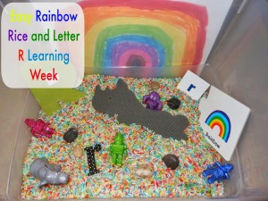 Tot time Preschool Letter R