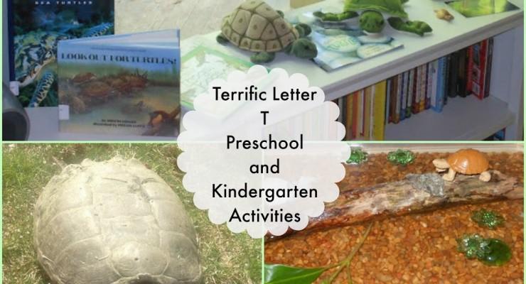 Tot time Preschool Letter T