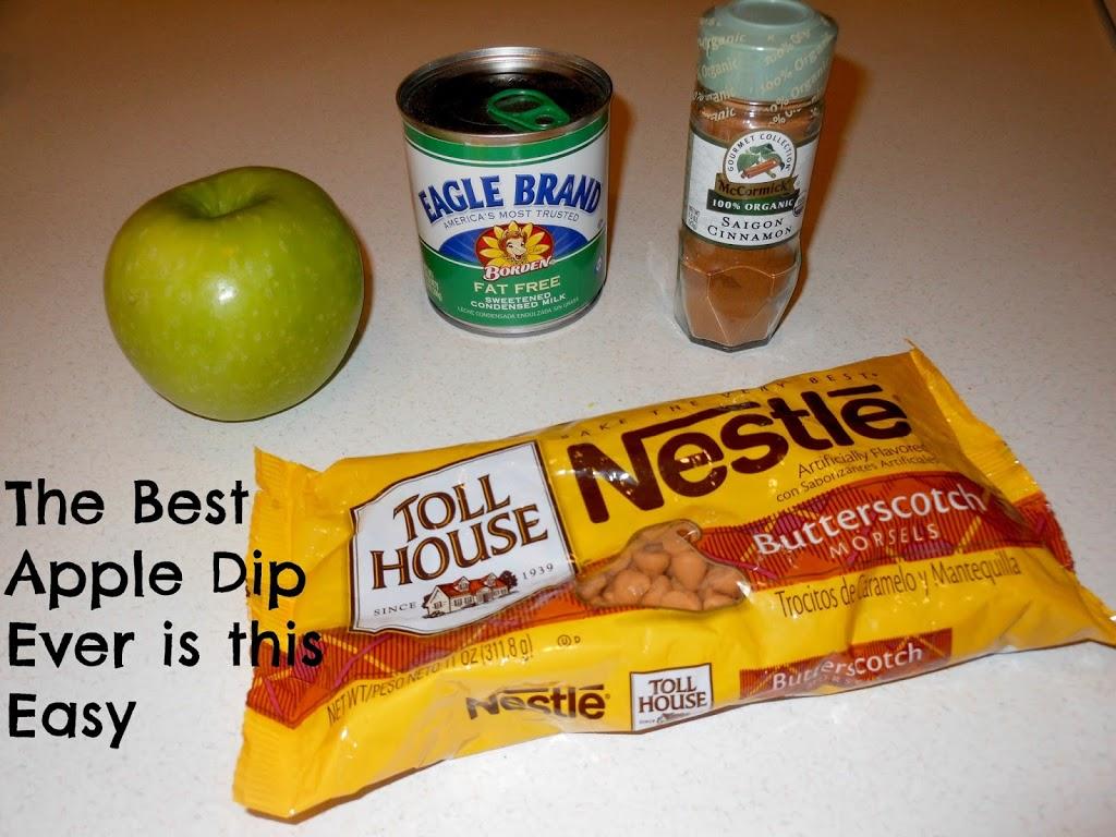 The Best Apple Dip Ever
