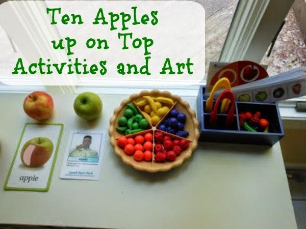 Ten Apples up on Top for Kindergarten