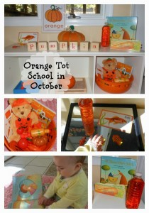 Orange Tot School in October