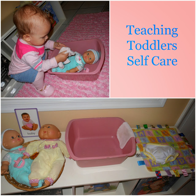 Practical Life Skills Can Mean So Many Different Things Here I Am Going To Show You How A Toddler As Young 12 Months Start Help Care For Herself