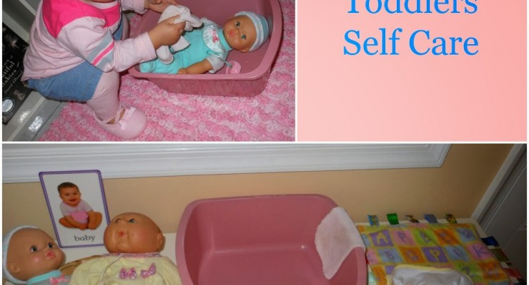 Teaching Toddlers Care of Self