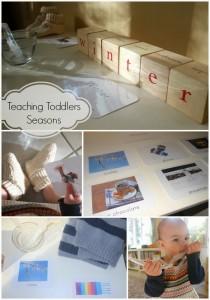 Teaching Toddlers Seasons-Free Spirit Kids