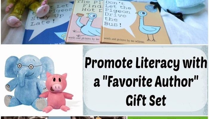 """The Perfect """"Favorite Author"""" Gift Set for Children"""
