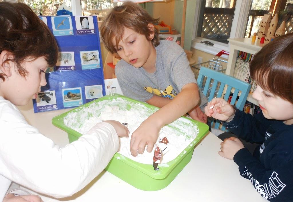 Arctic and Antarctica Frozen Foam Dough, Sensory play, Science, Homemade, Printables, Homeschooling, Geography, Kids Activities, www.naturalbeachliving.com