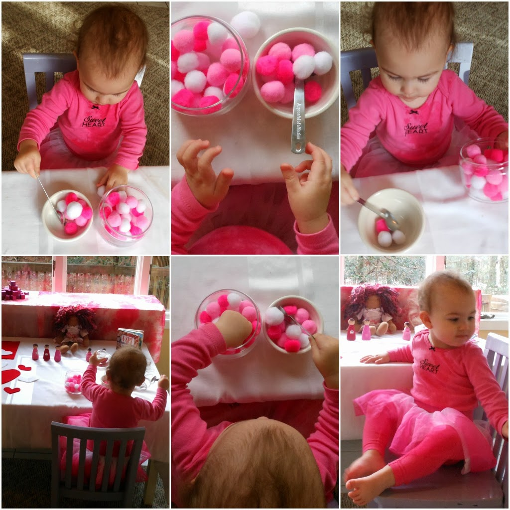 Fine motor skills for toddlers, Valentine's day fun, DIY activities, crafts, homemade play dough, blocks, Waldorf, Montessori www.naturalbeachliving.com