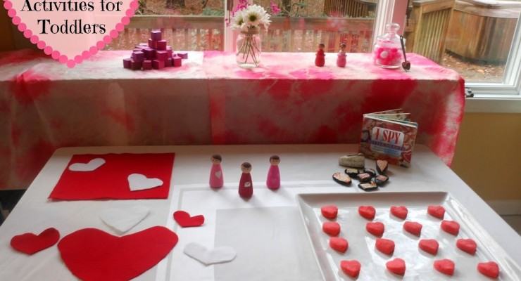 Montessori Valentine's Activities for Toddlers