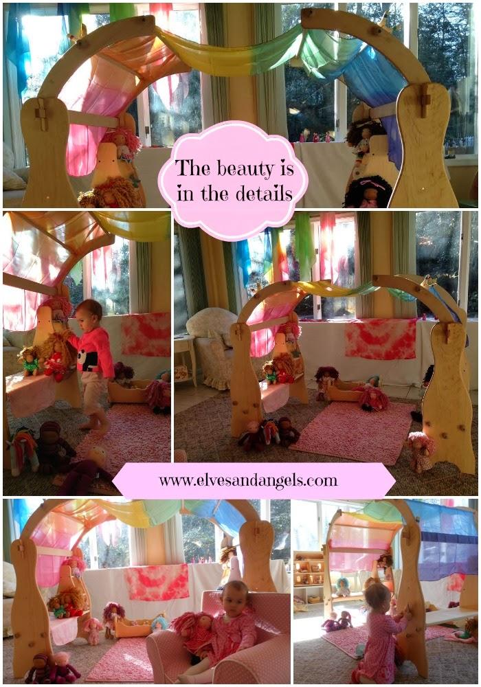 Waldorf, Natural Handmade Toys, Imaginary play, Waldorf Dolls, Playsilks, Kids spaces, Waldorf Playstands, Playroom, homeschool, www.naturalbeachliving.com