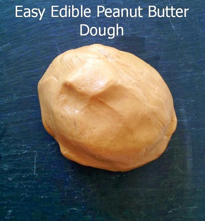Edible Peanut Butter Dough – Peanut Butter Playdough