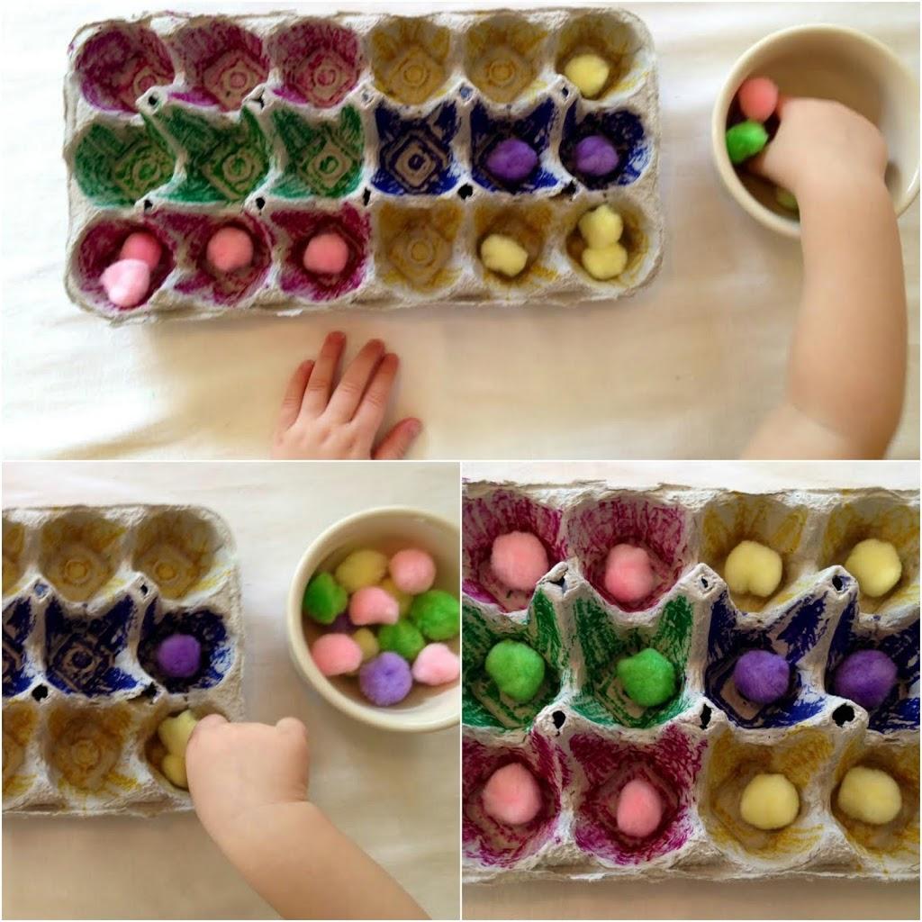 perfect spring DIY toddler activities, homemade blocks, Montessori activities, fine motor skills, sensory play and more www.naturalbeachliving.com