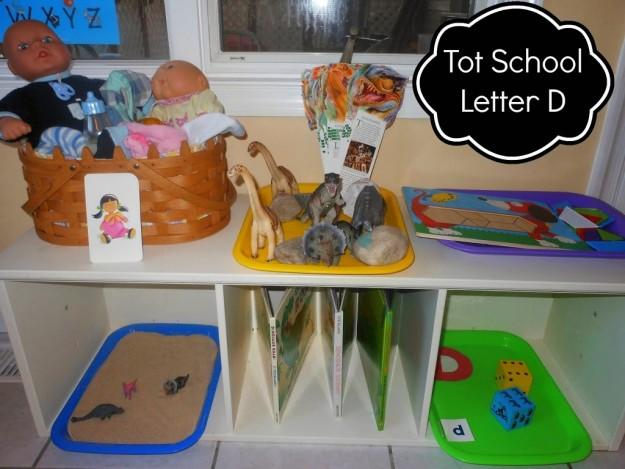 Letter of the Week Preschool D
