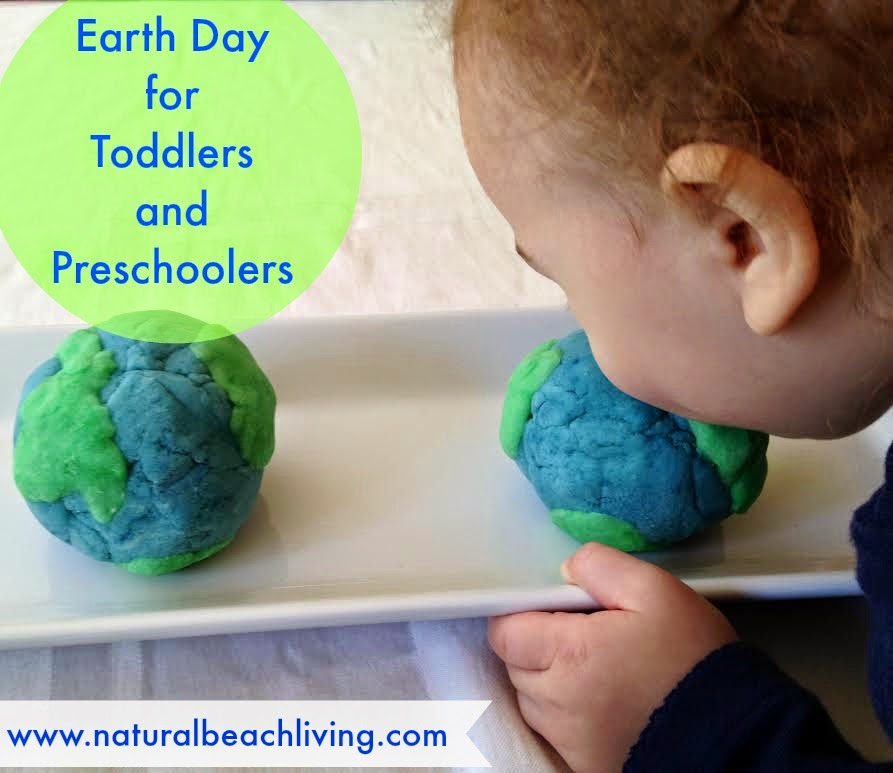 Earth Day Play dough, homemade, sensory play, Science and more www.naturalbeachliving.com