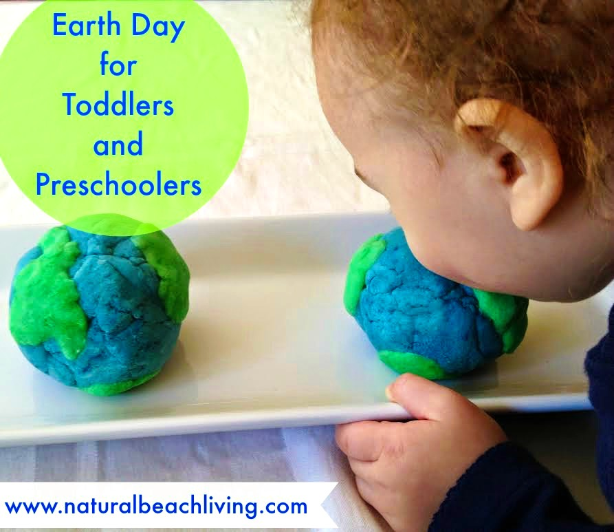 Earth Day Play Dough for Toddlers & Preschoolers