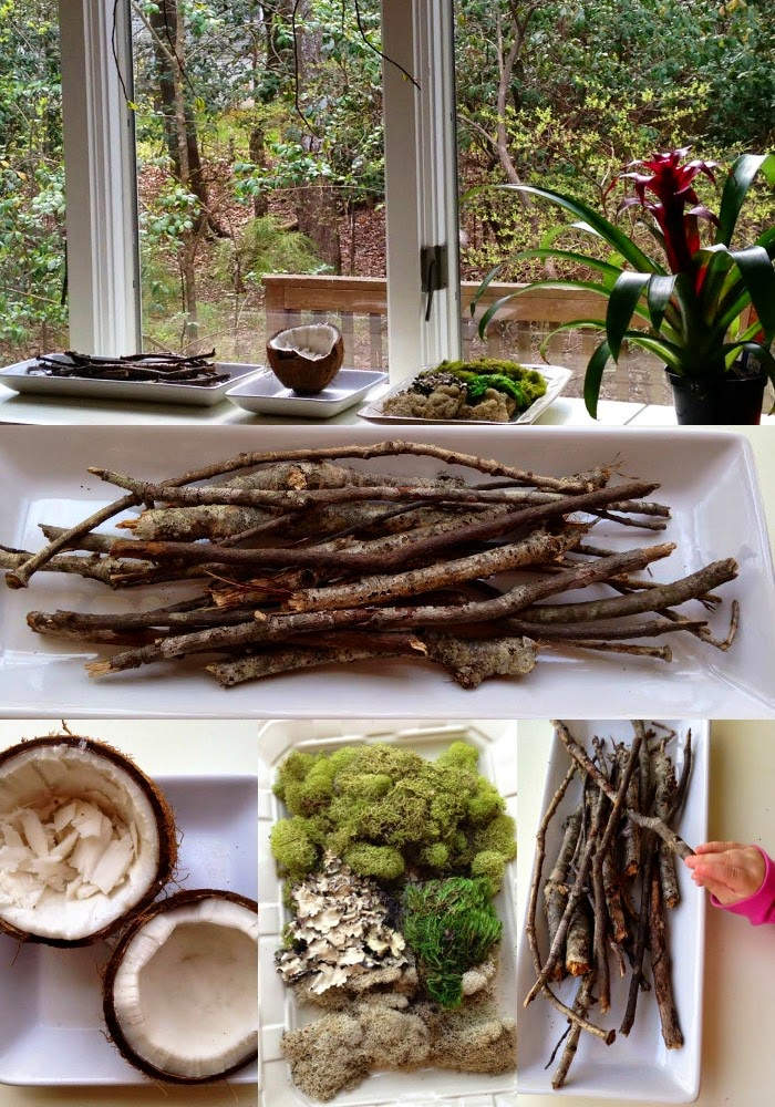 Reggio Inspired Spring Nature Table Natural Beach Living