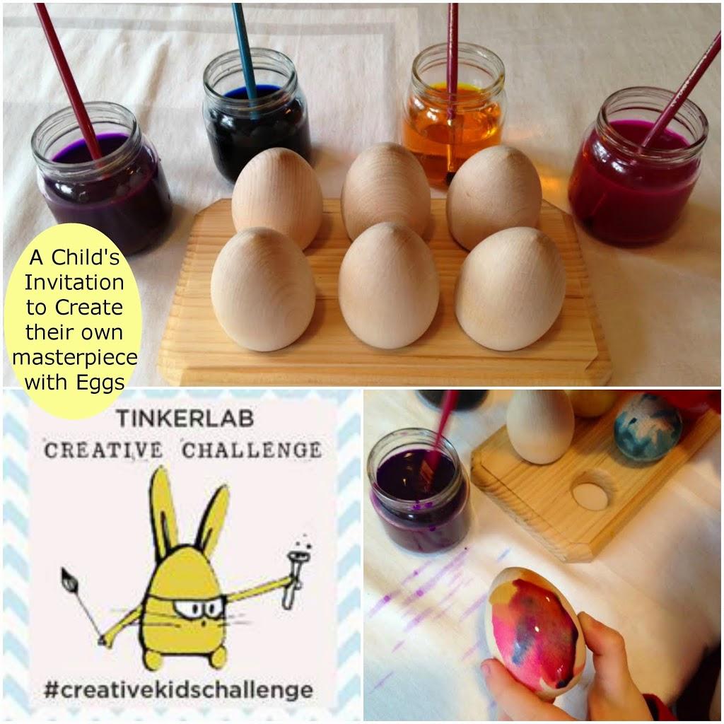 Child+Eggs+Watercolors=Masterpiece