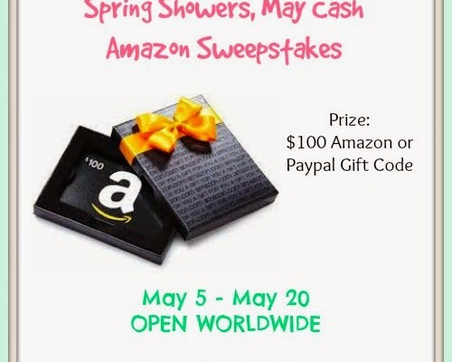 Spring Showers with Amazon Cash Giveaway