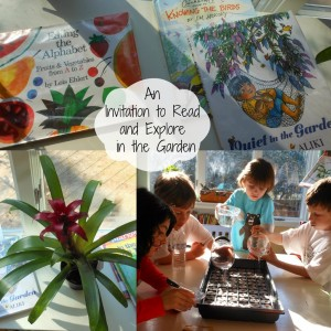 Explore and Learn in the Garden