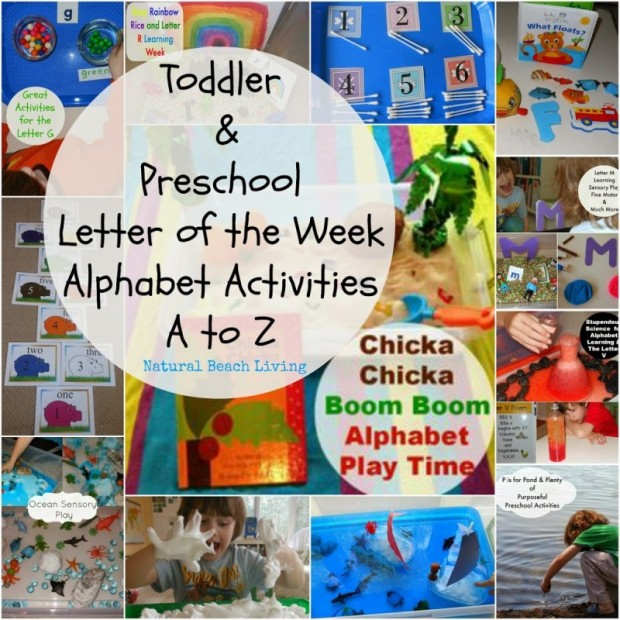 alphabet activities for toddlers and preschool