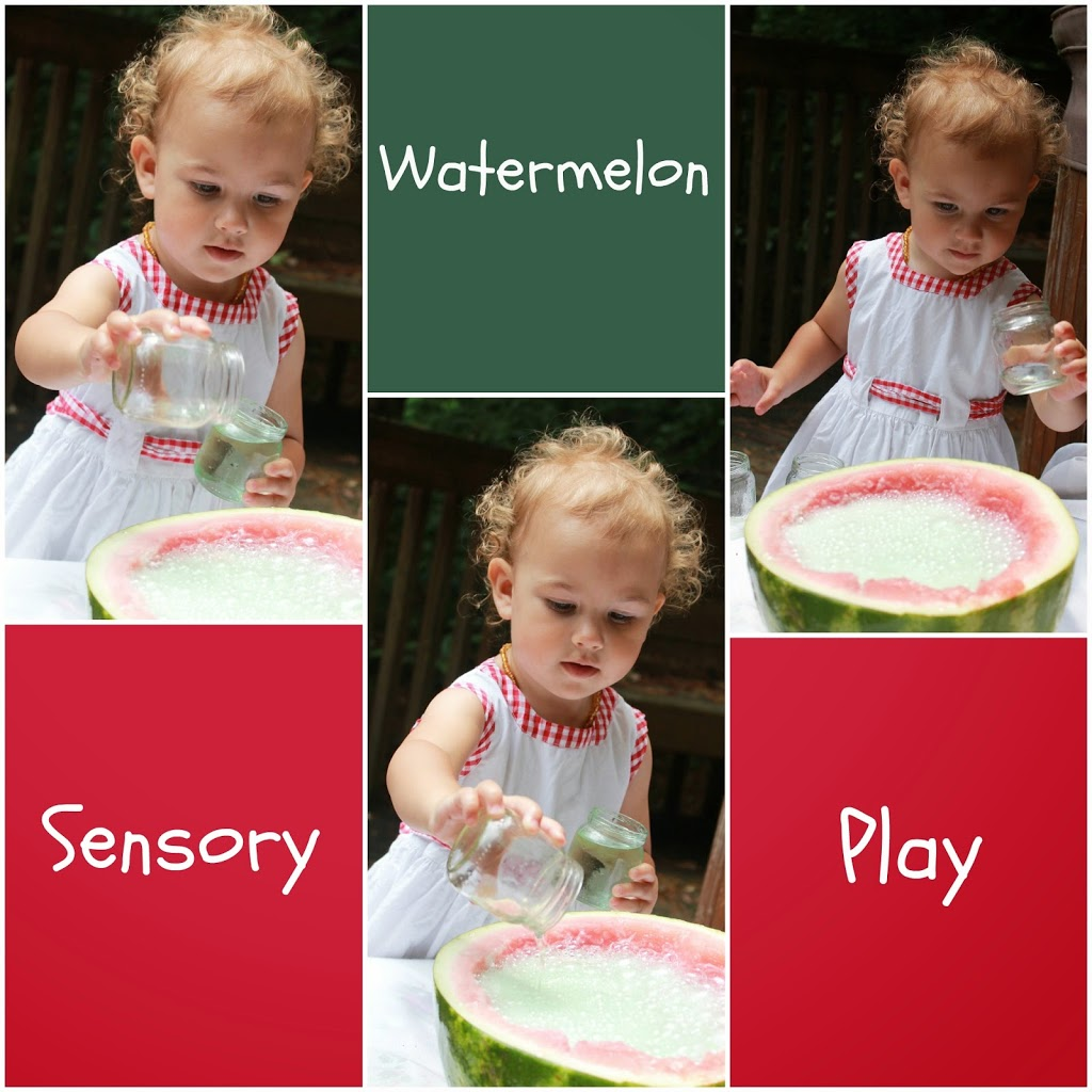 Watermelon fizzy sensory science, perfect summer fun, Easy kids activities, Perfect Science idea, kids activities that rock! The Coolest Sensory Play, Check out this watermelon sensory play at www.naturalbeachliving.com