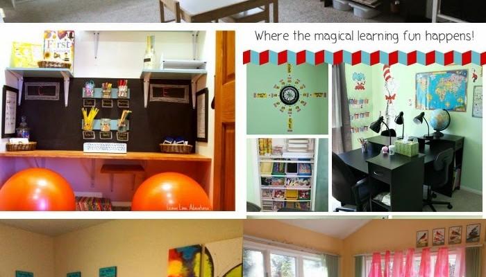 Tour 12 Fabulous Homeschool Rooms