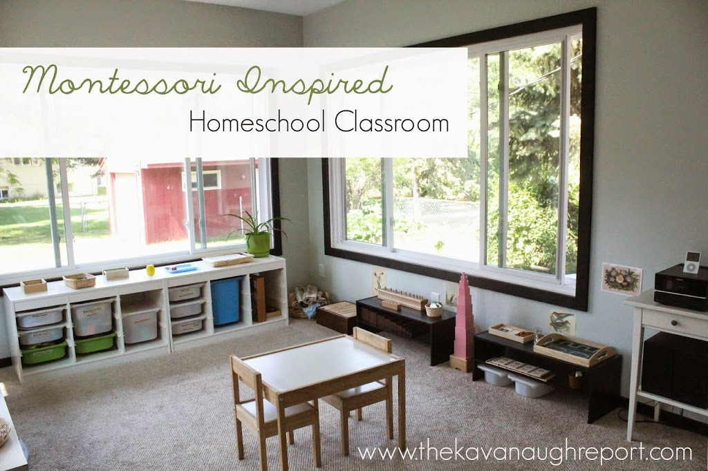 Tour 12 fabulous homeschool rooms natural beach living for Home school room ideas