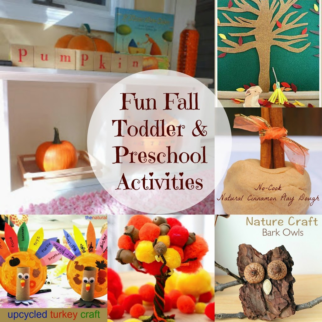 I can't wait to share all of these fun fall toddler and preschool activities with you. The best fall activities for kids-sensory, crafts,fun and learning