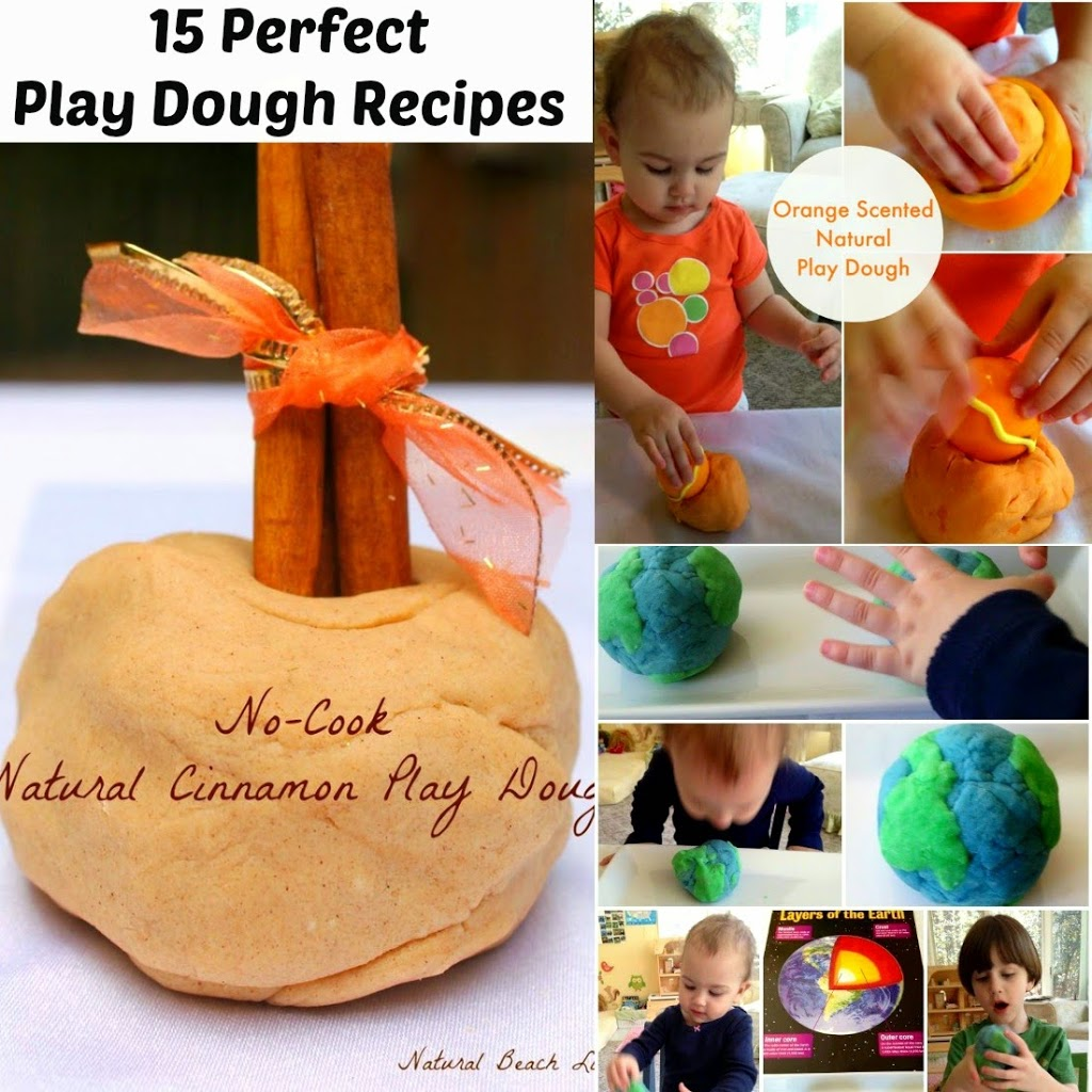 15 Perfect Play Dough Recipes