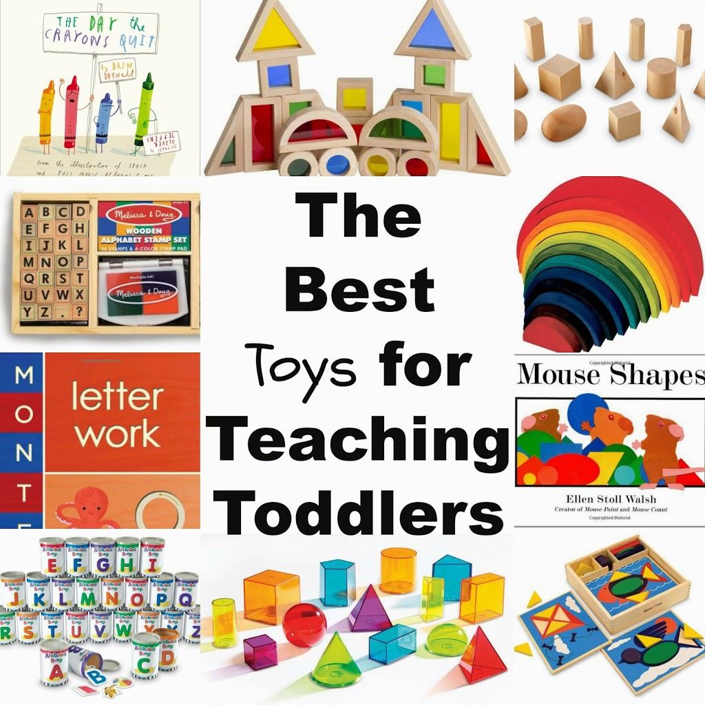 Toys For Teachers : The best toys for teaching toddlers through play