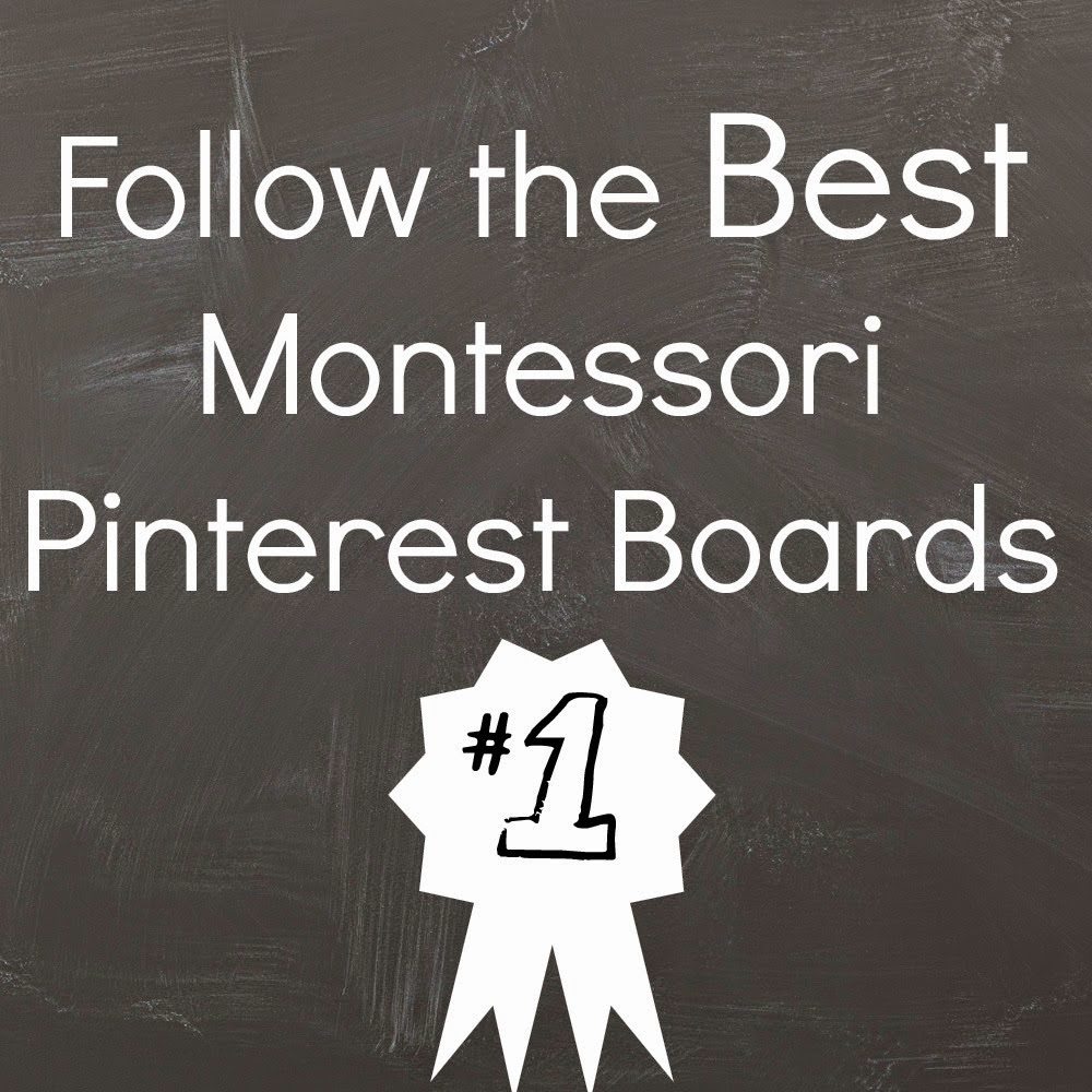 Top Pinterest Boards + Montessori