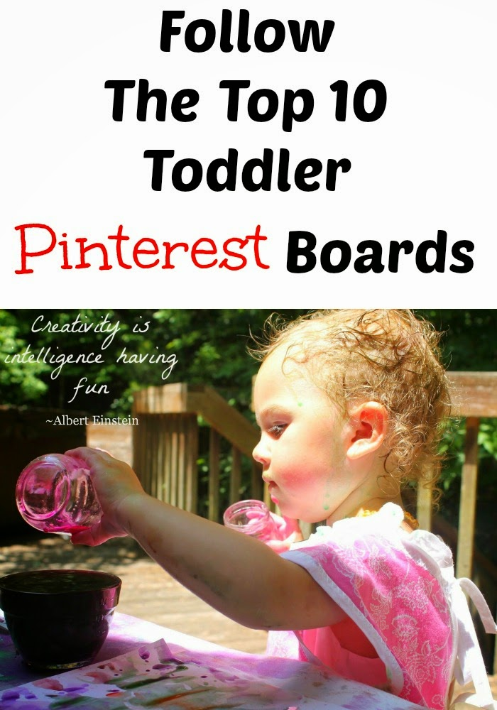 Top 10 Toddler Pinterest Boards + Montessori