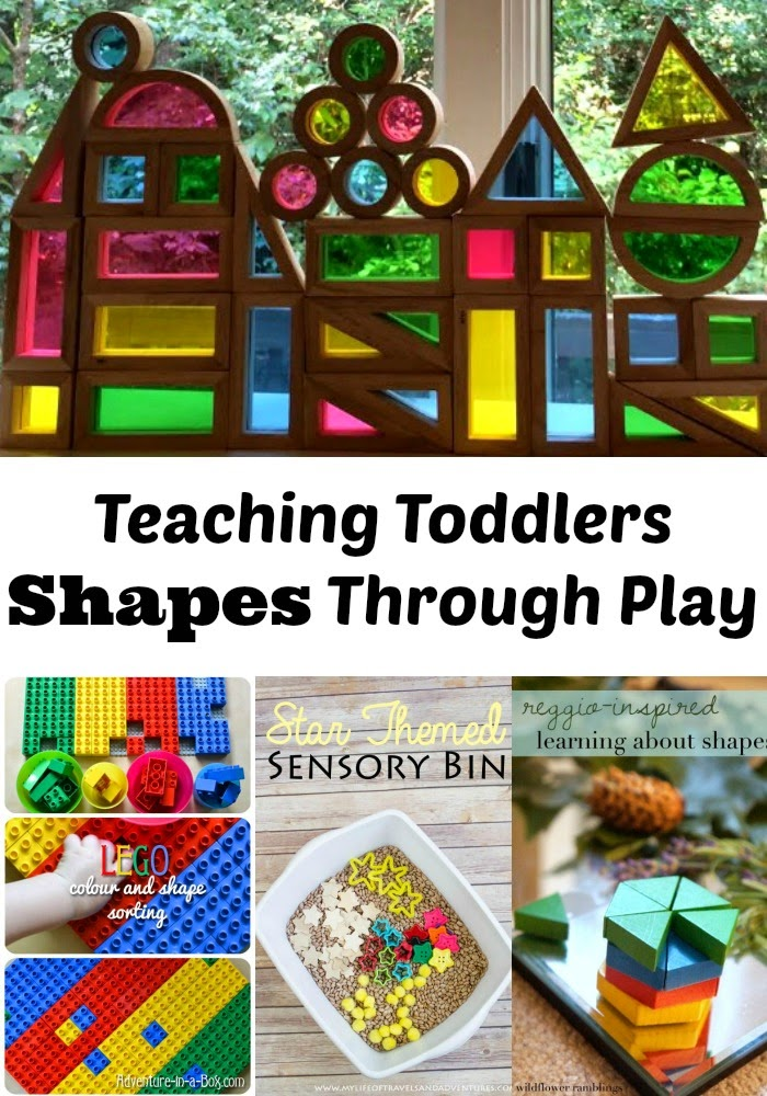 teaching shapes toddlers
