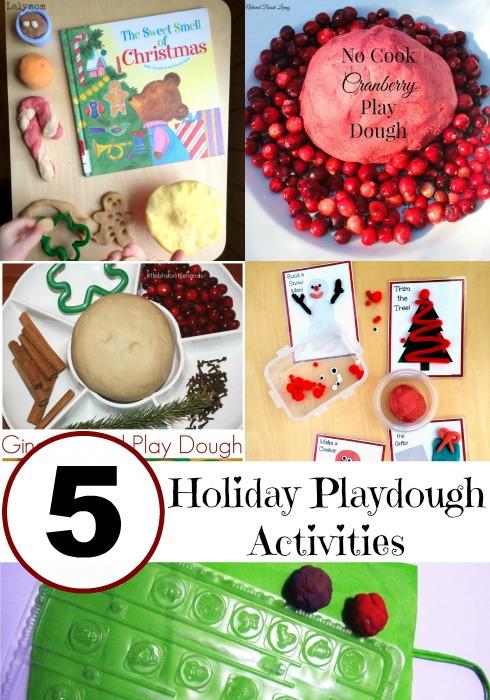 holiday playdough activities