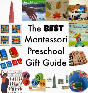 The Best Montessori Preschool Gift Guide