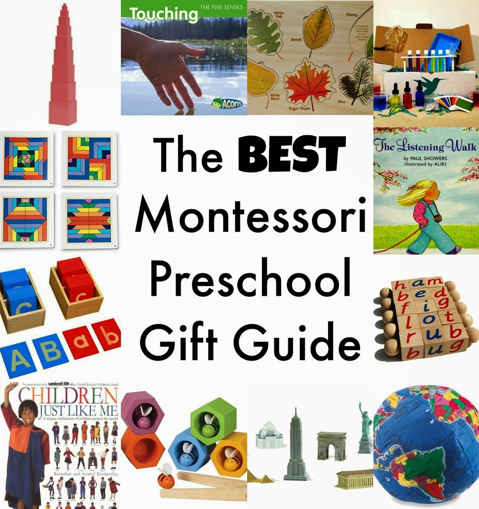 montessori preschool gift guide