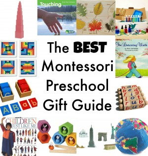 The Best montessori gift guide for preschoolers