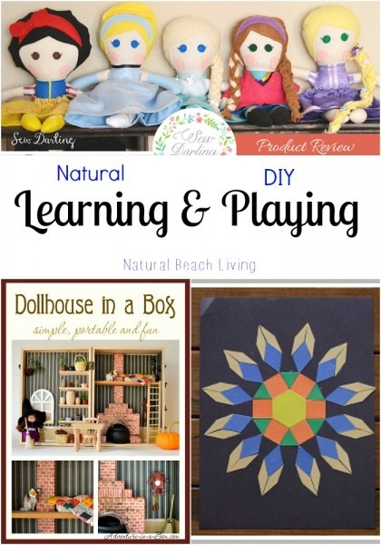 natural diy learning and playing
