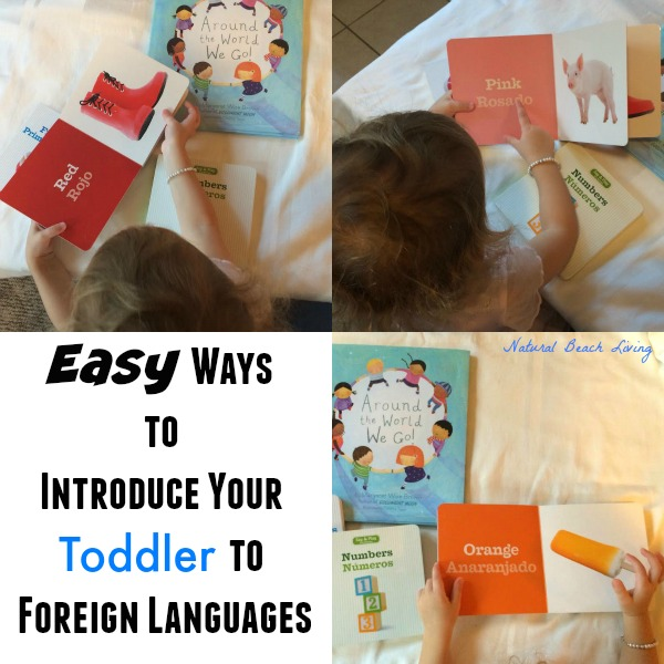 Teaching toddlers foreign language