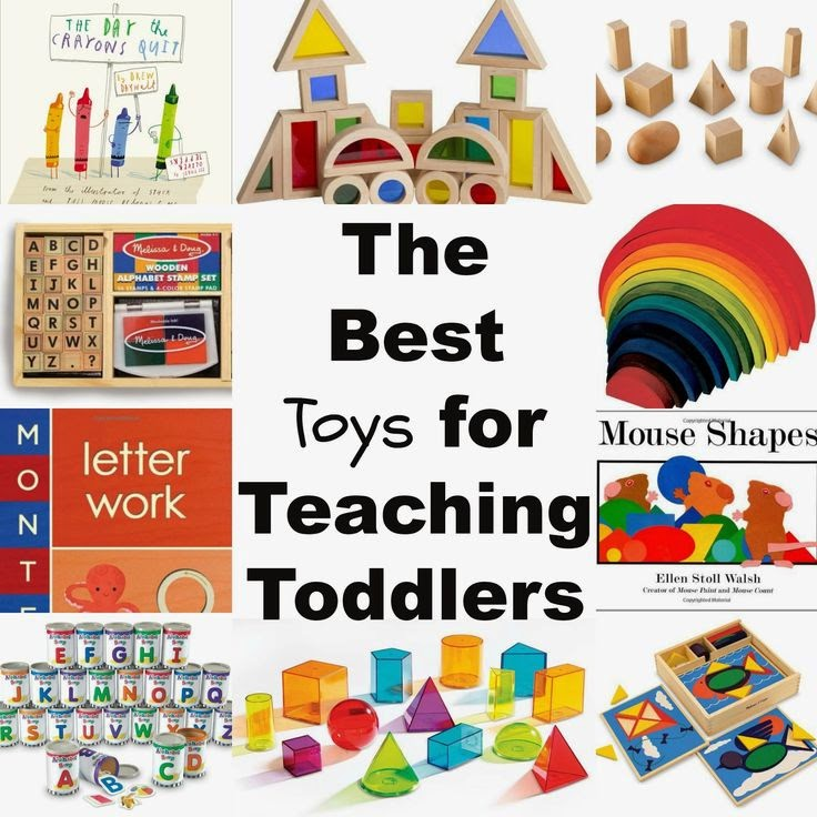 What Are The Best Learning Toys For Toddlers : Teaching toddlers shapes through play natural beach living
