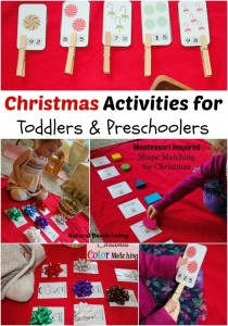 Easy Christmas Activities for Toddlers & Preschoolers