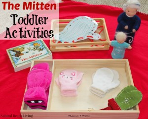 The Mitten Winter Toddler Activities