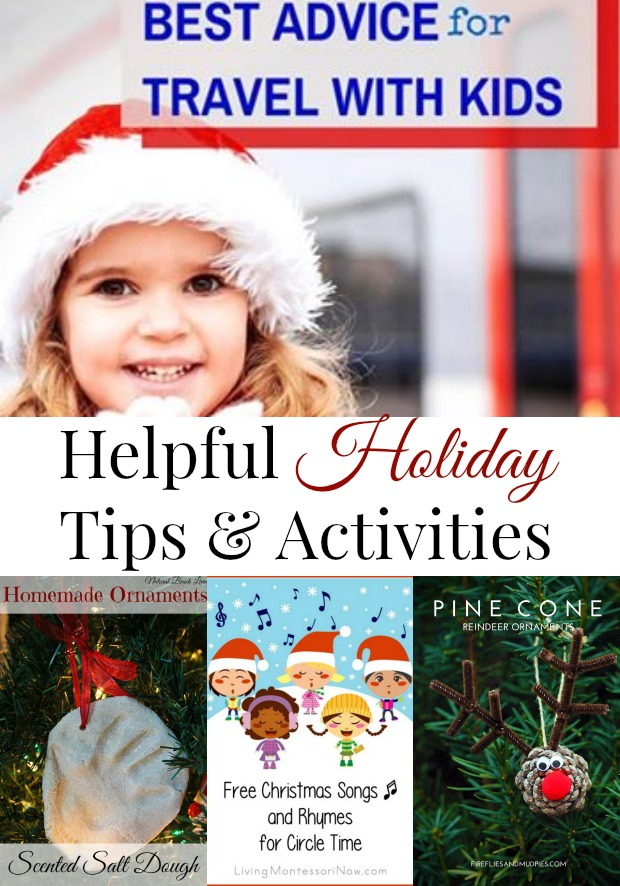 Helpful Holiday Tips, Activities, Books, Songs, and more www.naturalbeachliving.com