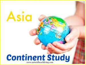 Traveling Asia Continent Study