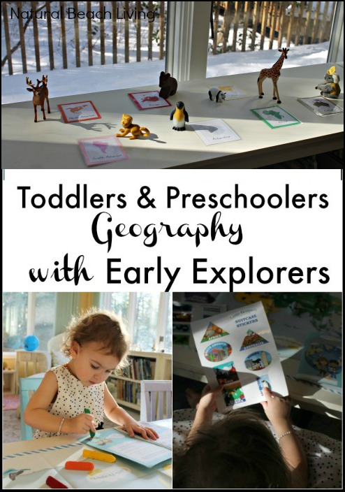 Geography for Toddlers & Preschoolers with Early Explorers